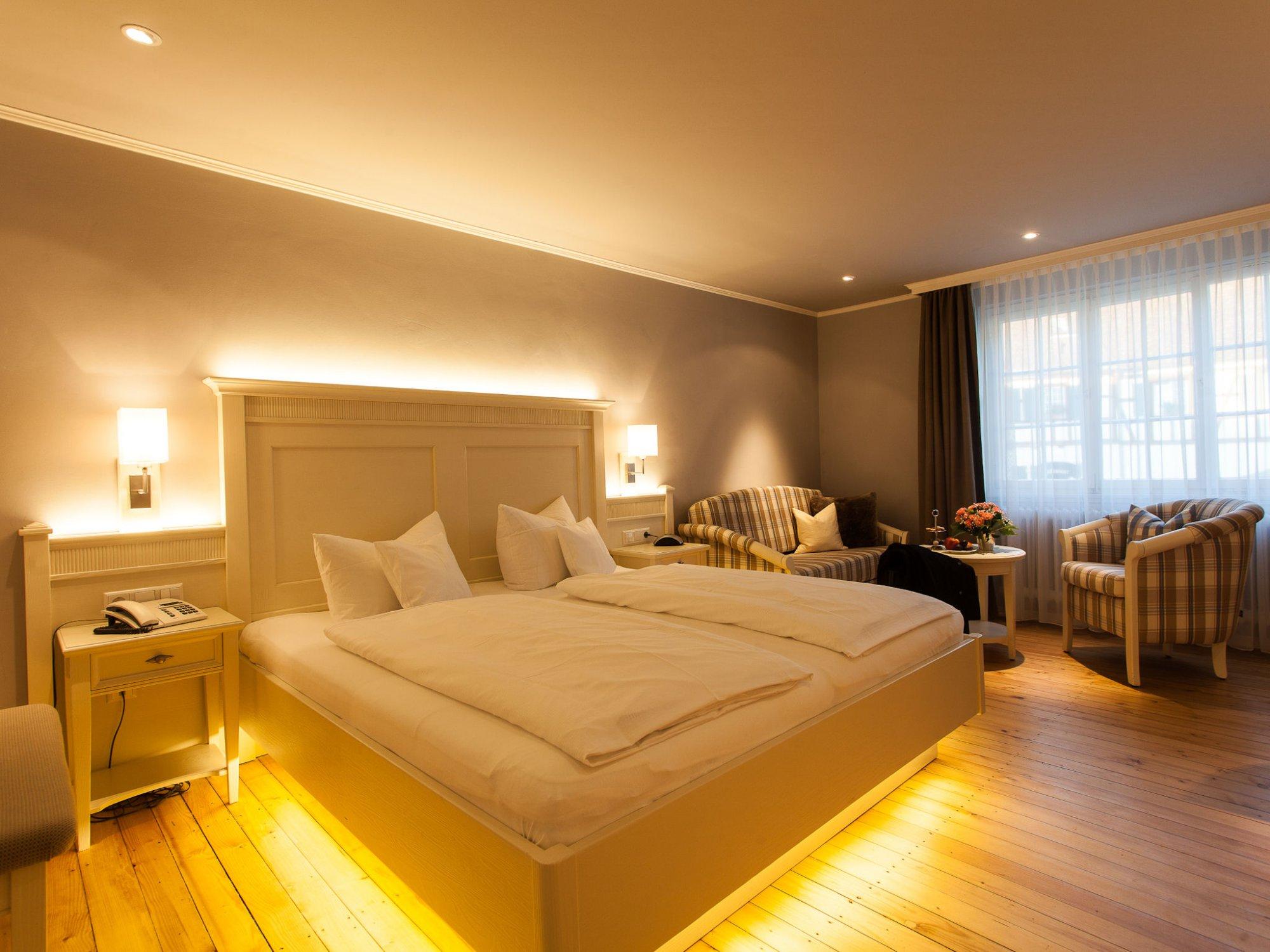 Fr hlingsanfang im markgr flerland romantik hotel zur sonne for Zimmer romantisch einrichten